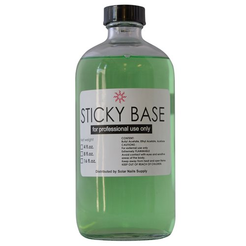 Solar 'Sticky' Base Coat (0.5oz-4oz-8oz-16oz)
