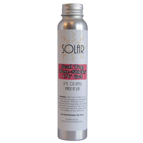 UV Non-Sticky Gel Top - 4 oz Refill