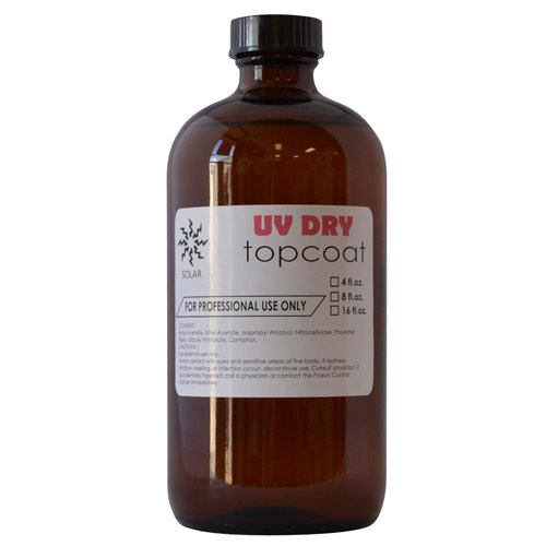 Solar UV Top Coat (4oz-8oz-16oz)
