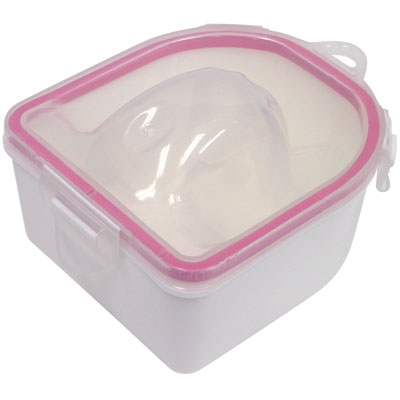 Deluxe Warming Manicure Bowl - Pink