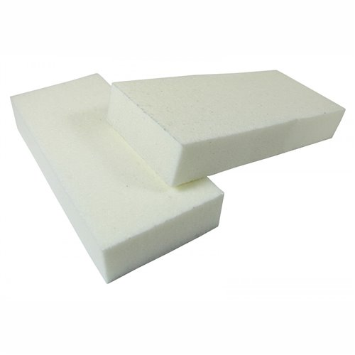 2 Way WHITE/WHITE Buffer 80/100 - (500pcs/case)